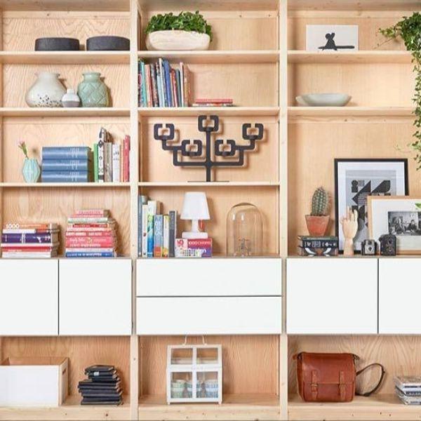 Van enkele boekenkast tot complete thuisbibliotheek | Lundia ...