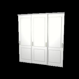 Schuifdeuren Lars wit 3-deurs