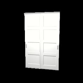 Schuifdeuren Ruben wit 2-deurs