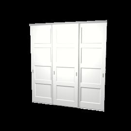 Schuifdeuren Ruben wit 3-deurs