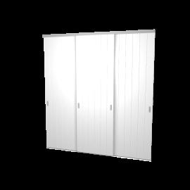 Schuifdeuren Birgit hoogglans 3-deurs