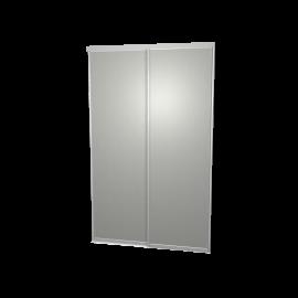 Schuifdeuren aluminium - 2-deurs