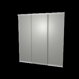 Schuifdeuren aluminium 3-deurs