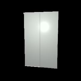 Schuifdeuren glas grijs 2-deurs