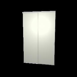 Schuifdeuren grijs groen 2-deurs