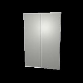 Schuifdeuren aluminium 2-deurs