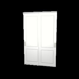 Schuifdeuren Lars wit 2-deurs
