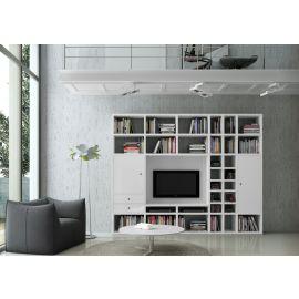 TV-kast op maat met laden en deuren